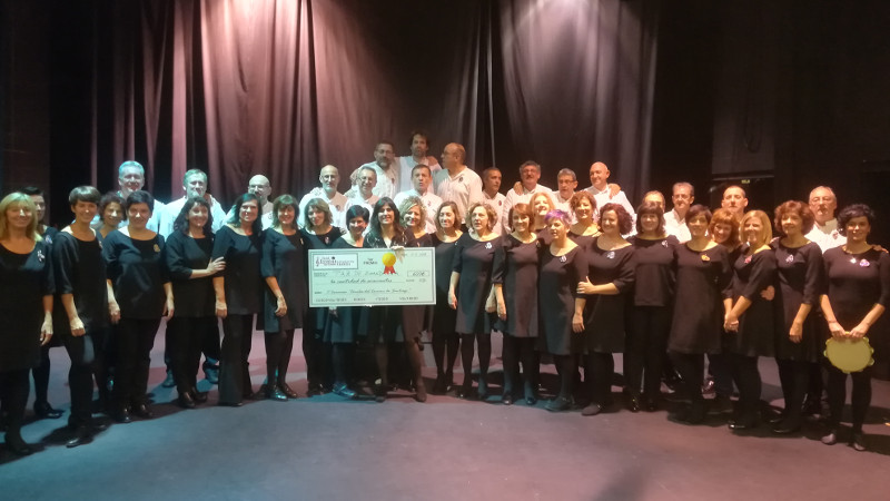 Coral Paz de Ziganda Helduen Abesbatza Ganadora del II Concurso - 2018